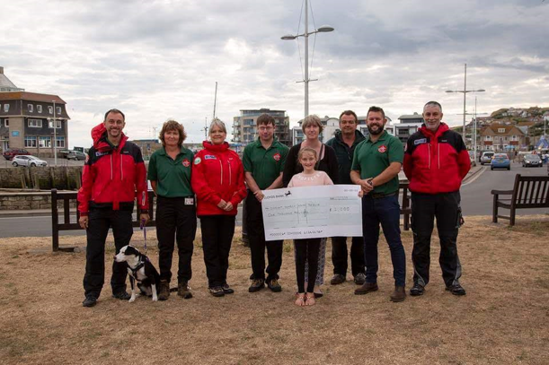 Cheque presentation in memory of Kevin Norminton